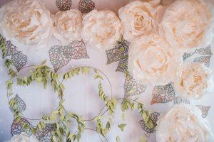 Papírvirágos Álomesküvő, VOUGE Hajó - Miss Lulli Decor-3