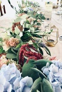 Asztaldekor, rusztikus geometrikus pajtalagzi esküvői dekoráció- MISS LULLI Decor
