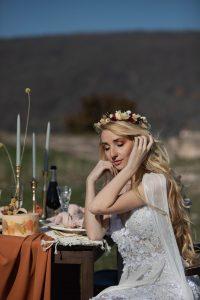 Őszi esküvő szabadtéri rusztikus dekoráció - MISS LULLI Decor