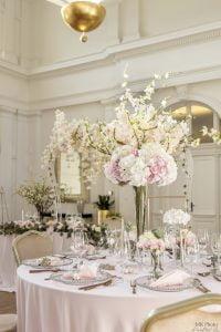 Bérelhető asztali dekoráció selyemvirág- Haris Park- MISS LULLI Decor