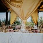 Desszertasztal dekor arany elegáns minimal design-MISS LULLI Decor