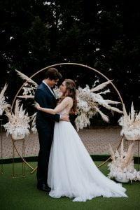 Esküvői szertartás dekoráció boldogságkapu-MISS LULLI Decor