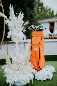 Esküvői szertartás dekoráció pampafű fehér elegáns -MISS LULLI Decor
