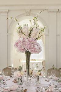 Gyönyörű asztaldísz selyemvirág bérelhető - MISS-LULLI-Decor
