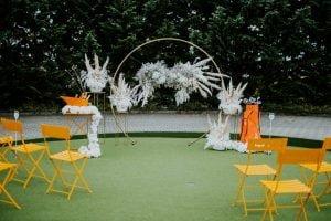 Szertartás esküvő esküvői boldogságkapu -bérelhető-MISS LULLI Decor