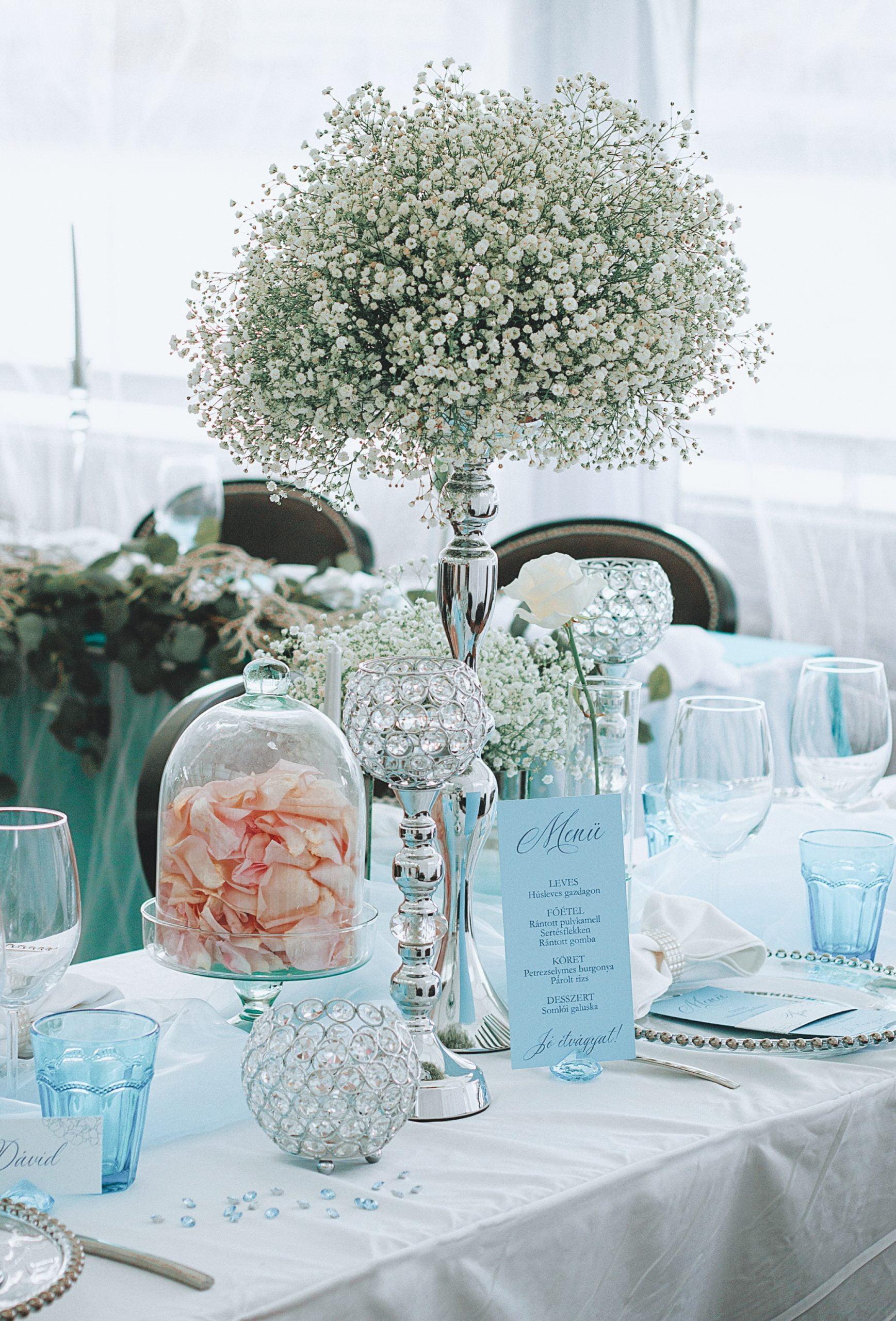 Téli esküvők gyémántként ragyognak- dekoráció